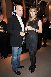 VEDAT YELKENCI and PAOLA THOLSTRUP at a party to celebrate the publication of Nathalie von Bismarck's book 'Invisible' held at Asprey, 167 New Bond Street, London on 9th December 2010.