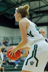 06 December 2017:  Ashley Schneider during an NCAA women's basketball game between the Wheaton Thunder and the Illinois Wesleyan Titans in Shirk Center, Bloomington IL