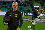 Celtic Goalkeeping Coach Stevie Woods ahead of the Europa League match between Celtic and Rennes at Celtic Park, Glasgow, Scotland on 28 November 2019.