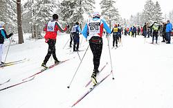 06-03-2016 SWE: Vasaloppet Challenge BvdGF day 7, Sälen<br /> Vandaag een rustig dagje, 90 km langlaufen van Sälen naar Mora in bizarre omstandigheden / Maurice