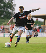 Picture by David Horn/Focus Images Ltd +44 7545 970036<br /> 16/07/2013<br /> Shaun Whalley of Luton Town scores a penalty after being tripped in the box during the Pre Season Friendly match at Top Field, Hitchin.