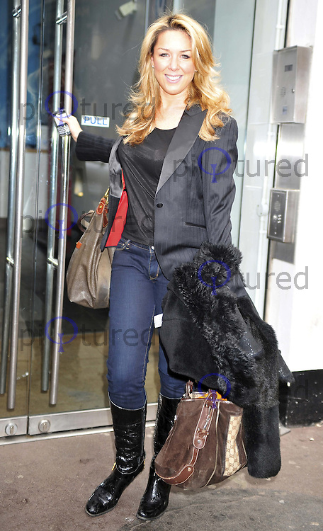 Claire Sweeney arrives at Have A Heart Appeal Day, Heart FM Radio Station, Leicester Square, London, UK, 04 March 2011:  Contact: Ian@Piqtured.com +44(0)791 626 2580 (Picture by Alan Roxborough)