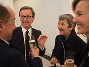 THADDAEUS ROPAC; FRANCES MORRIS, Opening of Galerie Thaddaeus Ropac London, Ely House, 37 Dover Street.. Mayfair. London. 26 April 2017.