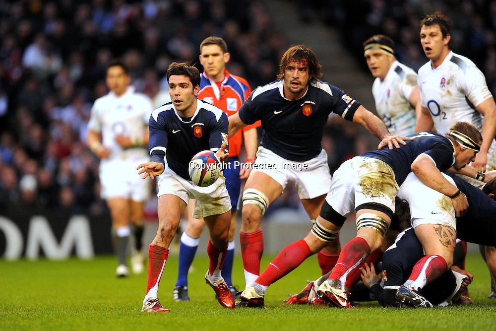 Rugby : Angleterre / France - Tournoi des VI Nations - 26.02.2011 - Dimitri YACHVILI (France) *** Local Caption *** 00044519