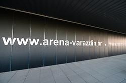 Arena Varazdin before handball match between National teams of Germany and Denmark on Day 4 in Main Round of Men's EHF EURO 2018, on January 21, 2018 in Arena Varazdin, Varazdin, Croatia. Photo by Mario Horvat / Sportida