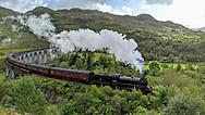 United Kingdom; Scotland; Harry Potter train, Jacobite steam train and Glenfinnan viaduct