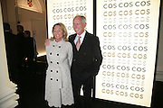 Rolf Erikson and his wife Janne, Cos Collection launch. Launch of new Hennes And Mauritz brand. Royal academy of Arts. Burlington Place. london. 14 march 2007.  -DO NOT ARCHIVE-© Copyright Photograph by Dafydd Jones. 248 Clapham Rd. London SW9 0PZ. Tel 0207 820 0771. www.dafjones.com.