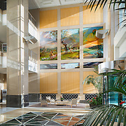 Interiors of 980 9th Street- Park Tower Office infrastructure- architectural and Interior Photography example of Chip Allen's work.