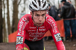 Julien Taramarcaz (SUI) of Corendon-Kwadro, Men Elite, Cyclo-cross World Cup Hoogerheide, The Netherlands, 25 January 2015, Photo by Pim Nijland / PelotonPhotos.com