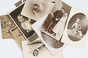 various old family photographs