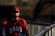 Gonzaga baseball vs. Portland on April 8. (Photo by Ryan Sullivan)