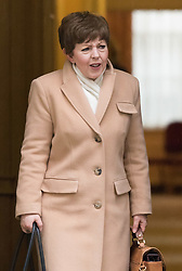 Downing Street, London, February 11th 2016. Leader of the House of Lords, Baroness Tina Stowell leaves the weekly cabinet meeting. <br /> ©Paul Davey<br /> FOR LICENCING CONTACT: Paul Davey +44 (0) 7966 016 296 paul@pauldaveycreative.co.uk