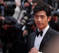 Singer and actor Jing Boran at the gala screening for the film The BFG at the 69th Cannes Film Festival, Saturday 14th May 2016, Cannes, France. Photography: Doreen Kennedy