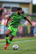 Forest Green Rovers defender Dominic Bernard (3) during the EFL Sky Bet League 2 match between Forest Green Rovers and Oldham Athletic at the New Lawn, Forest Green, United Kingdom on 3 August 2019.