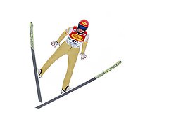 16.12.2017, Nordische Arena, Ramsau, AUT, FIS Weltcup Nordische Kombination, Skisprung, im Bild Mario Seidl (AUT) // Mario Seidl of Austria during Skijumping Competition of FIS Nordic Combined World Cup, at the Nordic Arena in Ramsau, Austria on 2017/12/16. EXPA Pictures © 2017, PhotoCredit: EXPA/ Martin Huber