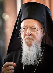 22 April 2017, Geneva, Switzerland: The Orthodox Centre in Chambésy celebrates 50 years. Here, His All Holiness Bartholomew I, Archbishop of Constantinople, New Rome and Ecumenical Patriarch.