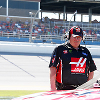 May 06, 2017 - Talladega, Alabama, USA: Kurt Busch (41) hangs out on pit road during qualifying for the GEICO 500 at Talladega Superspeedway in Talladega, Alabama.