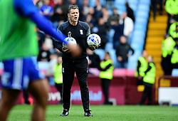Birmingham City first team coach Steve Cotterill  - Mandatory by-line: Joe Meredith/JMP - 23/04/2017 - FOOTBALL - Villa Park - Birmingham, England - Aston Villa v Birmingham City - Sky Bet Championship