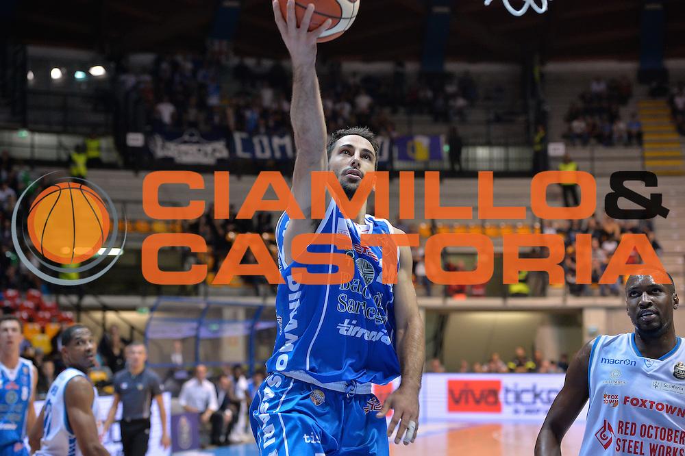 Rok Stipcevic<br /> Red October Cantu' vs Banco di Sardegna Sassari<br /> Basket Serie A 2016/2017<br /> Milano 23/10/2016<br /> Foto Ciamillo-Castoria