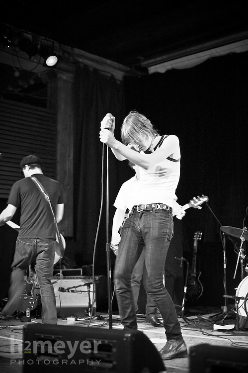 The Ex-Girlfriends Club performs at the Someday Lounge in Portland, Oregon November 27, 2009