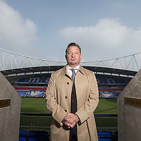 Bolton Wanderers new CEO Dean Holdsworth at the Macron Stadium, Bolton on March 11th 2016