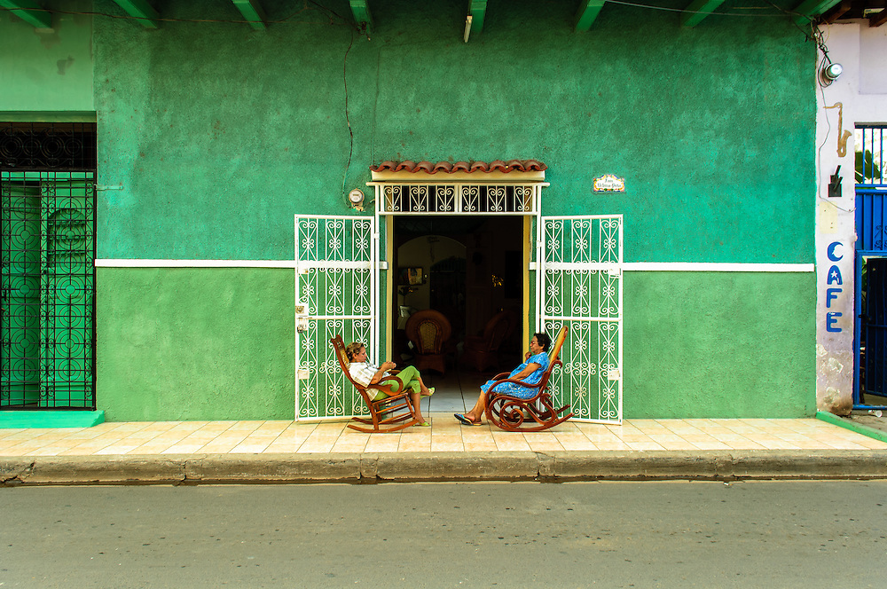 Street Life Granada Nicaragua
