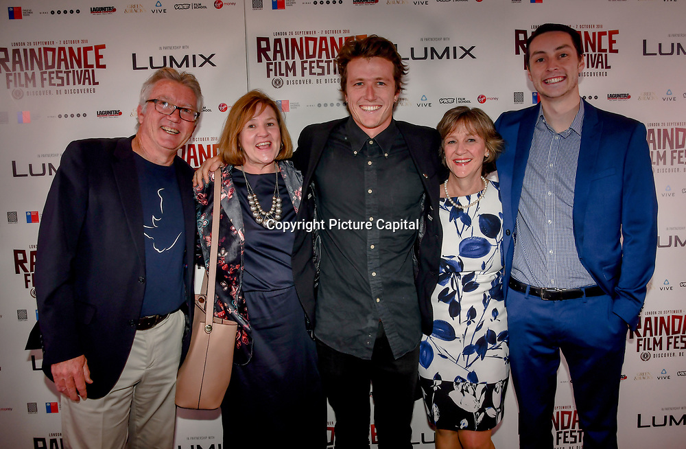 Director Mark Halliday of Vestige and guests attend World Premiere of Team Khan - Raindance Film Festival 2018 at Vue Cinemas - Piccadilly, London, UK. 29 September 2018.