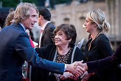 Director Michael Bay, with his mother Harriet Bay talks to attendees at the US Premier of 'Transformers: The Last Knight' on the Chicago River in front of the Civic Opera House on Tuesday June 20, 2017 in Chicago, IL. Photo: Christopher Dilts / Sipa USA *** Please Use Credit from Credit Field ***