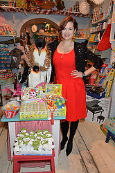 LONDON, ENGLAND 1 DECEMBER 2016: Jasmine Guinness at the 10th birthday party for the toy shop HoneyJam, 2 Blenheim Crescent, Notting Hill, London, England. 1 December 2016.