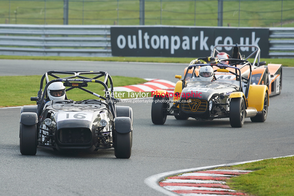 #16 Brian DEAN Westfield SE during CNC Heads Sports/Saloon Championship - Race 2  as part of the BARC Championships Race Day at Oulton Park, Little Budworth, Cheshire, United Kingdom. October 03 2015. World Copyright Taylor/PSP. Copy of publication required for printed pictures.  Every used picture is fee-liable. http://archive.petertaylor-photographic.co.uk