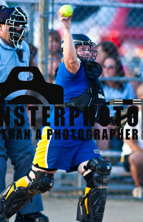 061511 Dover DE: Blue vs Gold All-State softball Game end at 5 after nine innings wednesday, June 15, 2011 at Dover Little League Complex in Dover Delaware...Special to The News Journal/SAQUAN STIMPSON