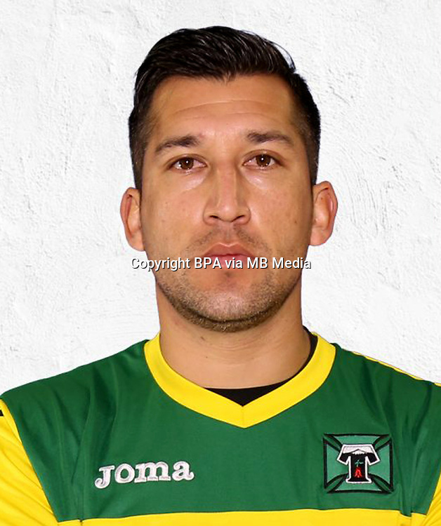 Chile Football League First Division - <br /> Scotiabank Tournament - 2016-2017 - <br /> ( Club Deportes Temuco ) - <br /> Luis Mar&iacute;n