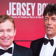 NLD/Utrecht/20130922 - Premiere Jersey Boys, hans Cornelissen en partner Ton Backer  (Tom Boudewijn Bouthoorn)