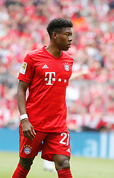 18.05.2019, Allianz Arena, Muenchen, GER, 1. FBL, FC Bayern Muenchen vs Eintracht Frankfurt, 34. Runde, im Bild David Alaba // during the German Bundesliga 34th round match between FC Bayern Muenchen and Eintracht Frankfurt at the Allianz Arena in Munich, Germany on 2019/05/18. EXPA Pictures © 2019, PhotoCredit: EXPA/ SM<br /> <br /> *****ATTENTION - OUT of GER*****