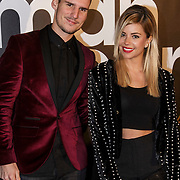 NLD/Amsterdam/20141215- Glamour Woman of the Year 2014, Jelle Klerx en Yvonne Coldeweijer