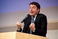 2013/05/30 Roma, presentazione del libro ' Oltre la rottamazione ' . Nella foto Matteo Renzi.<br /> Rome, presentation of the book ' Oltre la rottamazione (Over the scrapping). In the picture Matteo Renzi - &copy; PIERPAOLO SCAVUZZO