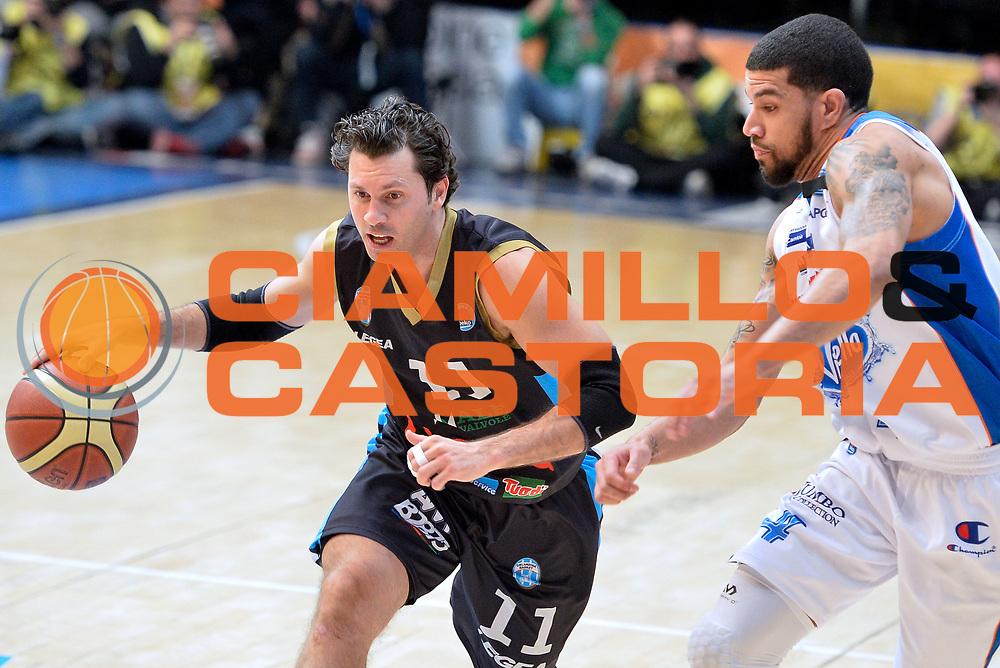 DESCRIZIONE : Cant&ugrave; Lega A 2014-15 Acqua Vitasnella Cant&ugrave; Upea Capo D'Orlando<br /> GIOCATORE : Andrea Pecile<br /> CATEGORIA : Palleggio<br /> SQUADRA : Upea Capo D'Orlando<br /> EVENTO : Campionato Lega A 2014-2015<br /> GARA : Acqua Vitasnella Cant&ugrave; Upea Capo D'Orlando<br /> DATA : 04/04/2015<br /> SPORT : Pallacanestro <br /> AUTORE : Agenzia Ciamillo-Castoria/I.Mancini<br /> Galleria : Lega Basket A 2014-2015  <br /> Fotonotizia : Cant&ugrave; Lega A 2014-2015 Acqua Vitasnella Cant&ugrave; Upea Capo D'Orlando<br /> Predefinita :