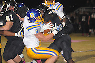Oxford High's Harland Stewart (8) vs. New Hope in New Hope, Miss. on Friday, October 18, 2013. Oxford High won 39-14 to remain undefeated.