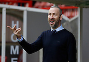 Shaun Derry, Manager of Cambridge United before the Sky Bet League 2 match between Crawley Town and Cambridge United at the Checkatrade.com Stadium, Crawley, England on 9 January 2016. Photo by Andy Walter.