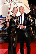 Sarah Marshall and Jean-Claude Jitrois arrive for the NRJ Music Awards 2012 at Palais des Festivals on January 28, 2012 in Cannes.Sarah Marshall et Jean-Claude Jitrois arrivent pour le NRJ Music Awards 2012 au Palais des Festivals le Janvier 28 2012 à Cannes.