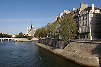 Notre  Dame and ile de la Cite, Paris.