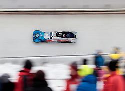 16.12.2017, Olympia Eisbahn, Igls, AUT, BMW IBSF Weltcup und EM, Igls, Zweierbob Herren, 2. Lauf, im Bild Dominik Dvorak und Jakub Nosek (CZE) // Dominik Dvorak and Jakub Nosek of Czech Republic during 2nd run run of two-man Bobsleigh competition of BMW IBSF World Cup and European Championship at the Olympia Eisbahn in Igls, Austria on 2017/12/16. EXPA Pictures © 2017, PhotoCredit: EXPA/ Johann Groder
