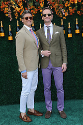 June 3, 2017 - Jersey City, NJ, USA - June 3, 2017 Jersey City, NJ..David Burtka and Neil Patrick Harris attending the Veuve Cliquot Polo Classic at Liberty State Park on June 3, 2017 in Jersey City, NJ. (Credit Image: © Kristin Callahan/Ace Pictures via ZUMA Press)
