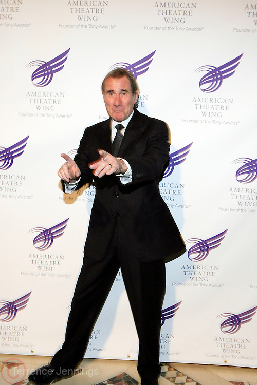 """Jim Dale at The American Theater Wing's Annual Spring Gala Honoring Jerry Herman and Visa INC...The American Theatre Wing is best known as the creator of the Antoinette Perry """"Tony"""" Awards, which it presents annually with the Brodway League. The Wing's other activities, dedicated to recognizing excellence and supporting eductaion in theatre."""