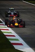 September 3, 2016: Daniel Ricciardo (AUS), Red Bull, Nico Rosberg  (GER), Mercedes , Italian Grand Prix at Monza