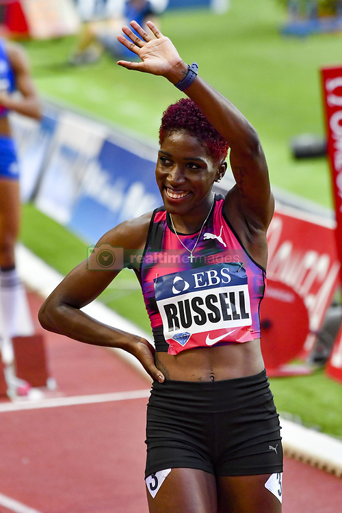July 21, 2017 - France - Russell (USA) -  400m haies femmes (Credit Image: © Panoramic via ZUMA Press)