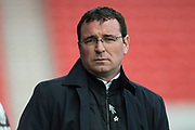Blackpool Manager Gary Bowyer during the EFL Sky Bet League 2 match between Doncaster Rovers and Blackpool at the Keepmoat Stadium, Doncaster, England on 17 April 2017. Photo by Craig Zadoroznyj.