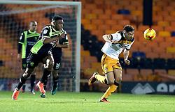 Tyler Walker of Port Vale controls the ball  - Mandatory by-line: Robbie Stephenson/JMP - 20/01/2017 - FOOTBALL - Vale Park - Stoke-on-Trent, England - Port Vale v Bury - Sky Bet League One