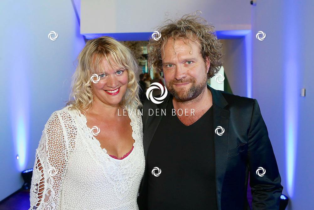 AMSTERDAM - In het EYE is de filmpremière van Borgman. Met hier op de foto  Elske Falkena met partner Marc de Cloe. FOTO LEVIN DEN BOER - PERSFOTO.NU
