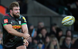December 27, 2016 - London, England, United Kingdom - Harlequins Rob Buchanan during Aviva Premiership Rugby Big Game 9 match between Harlequins and Gloucester Rugby at The Twickenham Stadium, London on 27 Dec 2016  (Credit Image: © Kieran Galvin/NurPhoto via ZUMA Press)